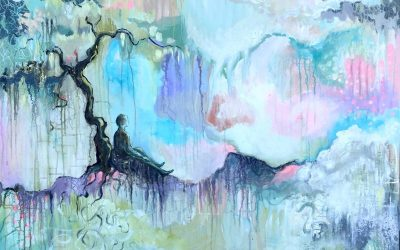Nyt maleri – Himlen på jorden