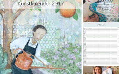 Lise Meijer væg kalender 2017 – spar 50 kr. i forsalg!