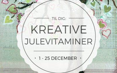 Kreative Julevitaminer – en gave til dig i december