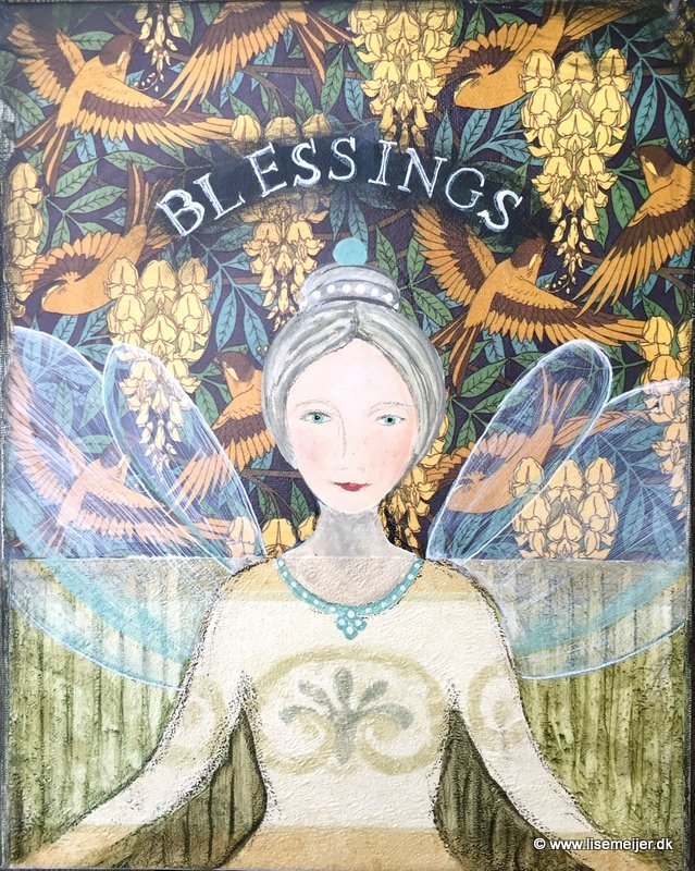 Angel of blessings