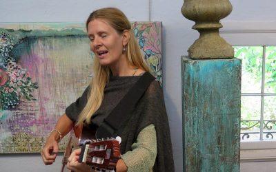 Sangforedrag i Paradehuset på Gisselfeld kloster