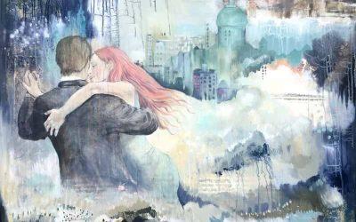 Nyt maleri: Dancing city
