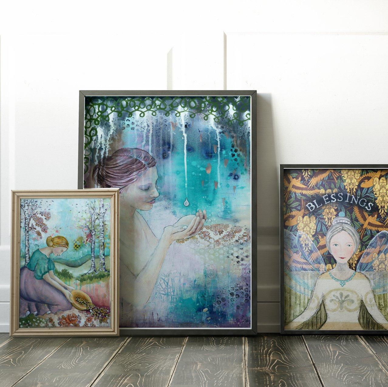 30 x 40 cm Art Print - choose any image