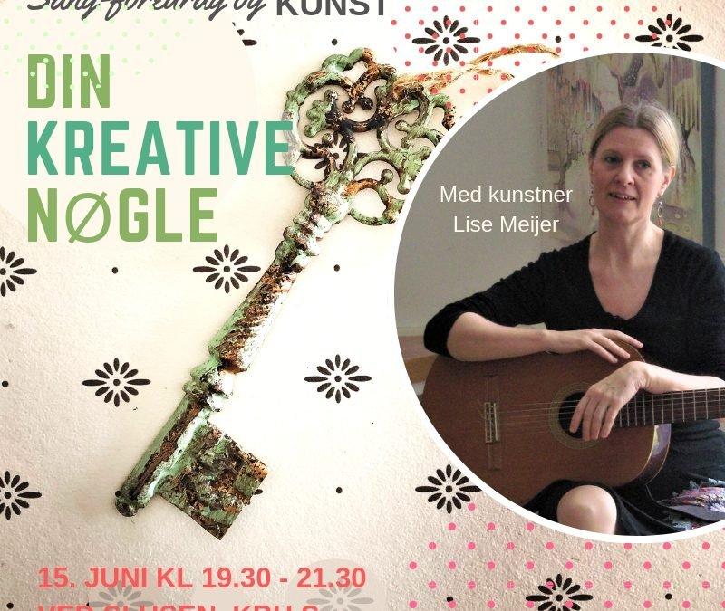 DIN KREATIVE NØGLE – sangforedrag i København