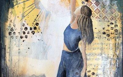 Danser med Lyset – nyt maleri